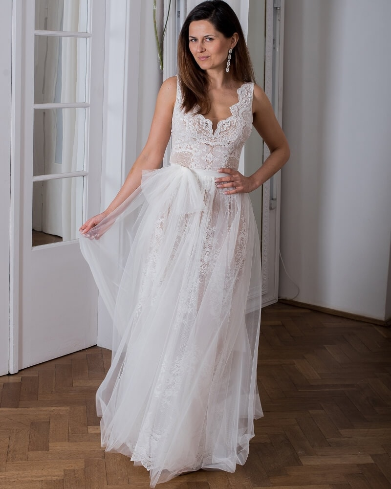 suknia slubna porto 11 przod 1 Porto wedding dresses collection