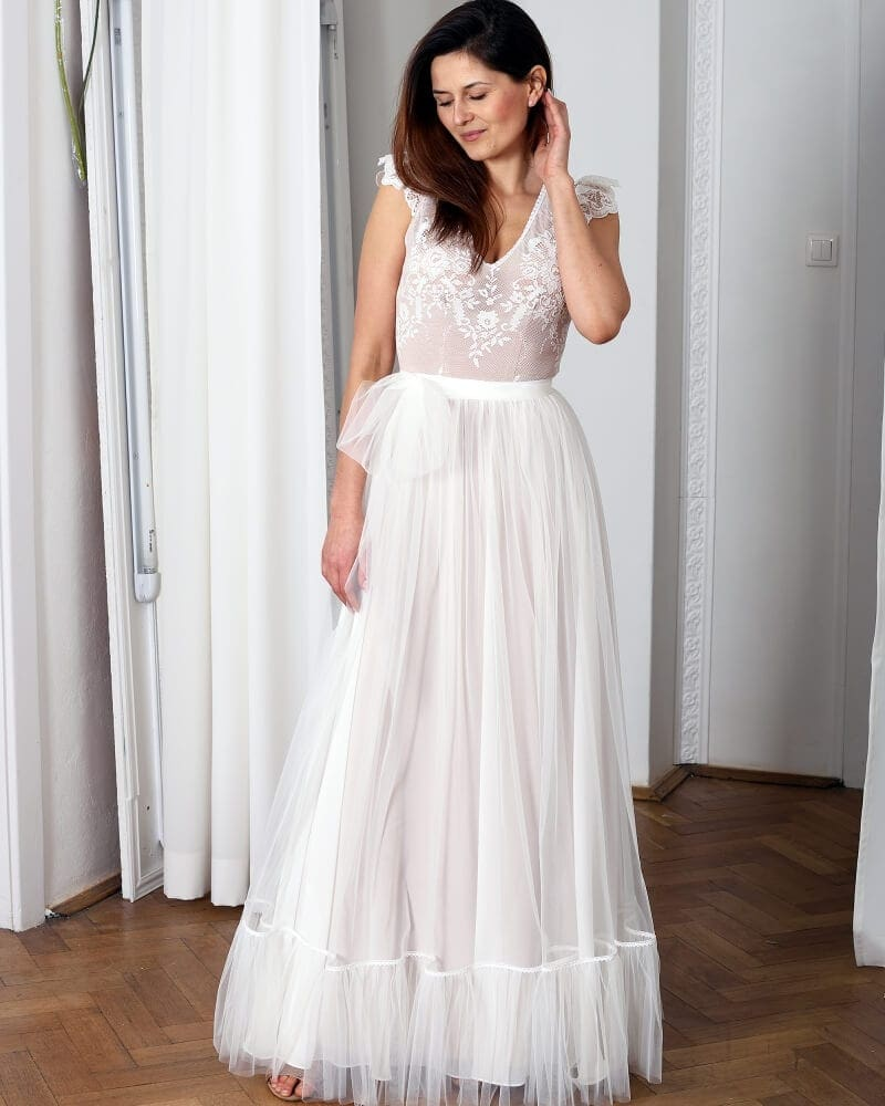 suknia slubna porto 16 przod 1 Porto wedding dresses collection