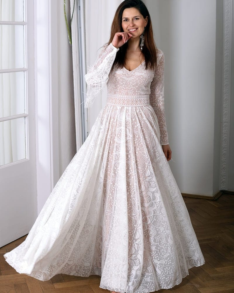 suknia slubna porto 19 przod 1 Porto wedding dresses collection