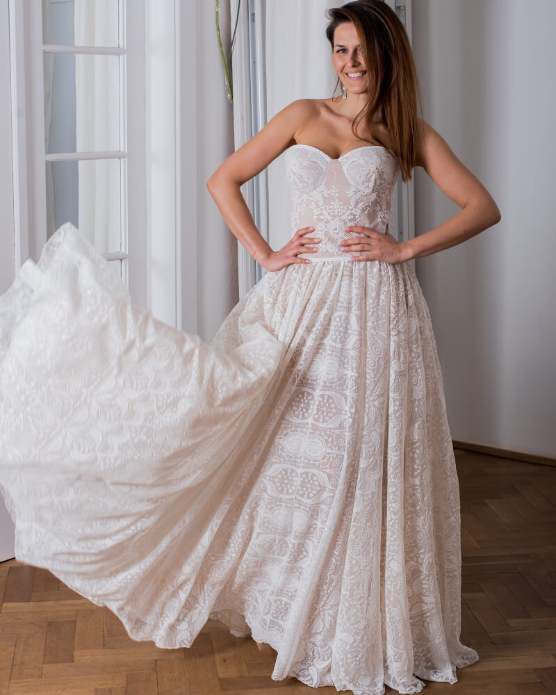 suknia slubna porto 22 przod 1 Porto wedding dresses collection