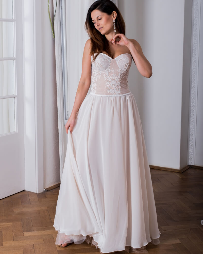 suknia slubna porto 26 przod 1 Porto wedding dresses collection
