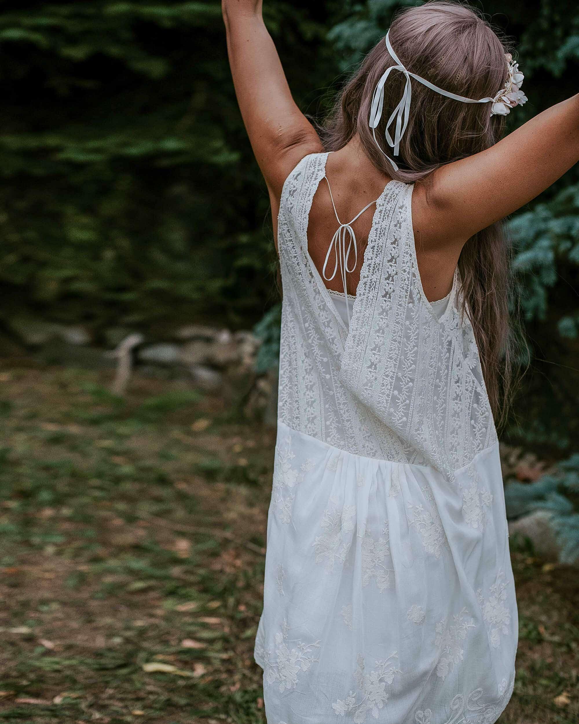 Króka sukienka wizytowa w stylu boho - Barcelona 12