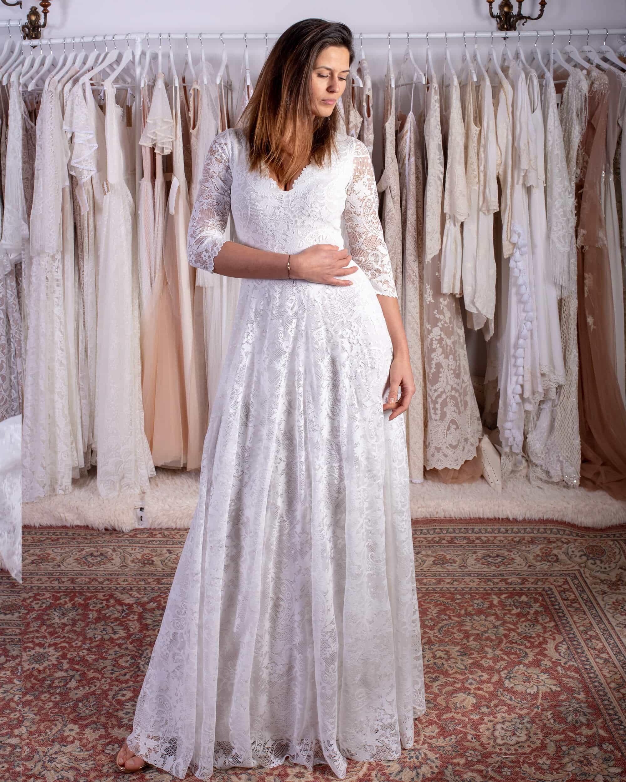 Dress 40 Porto Collection Suknie ślubne Boho Na Wymiar Suknie