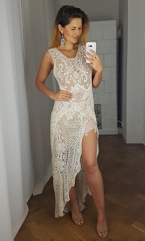 suknia ślubna przód