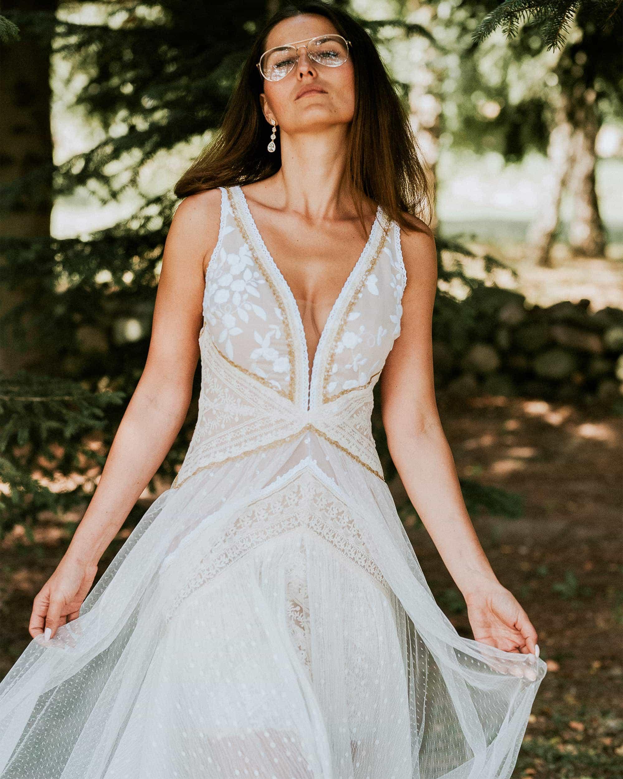 Kwintenescja modnych i ekskluzywnych sukien ślubnych - Barcelona 3