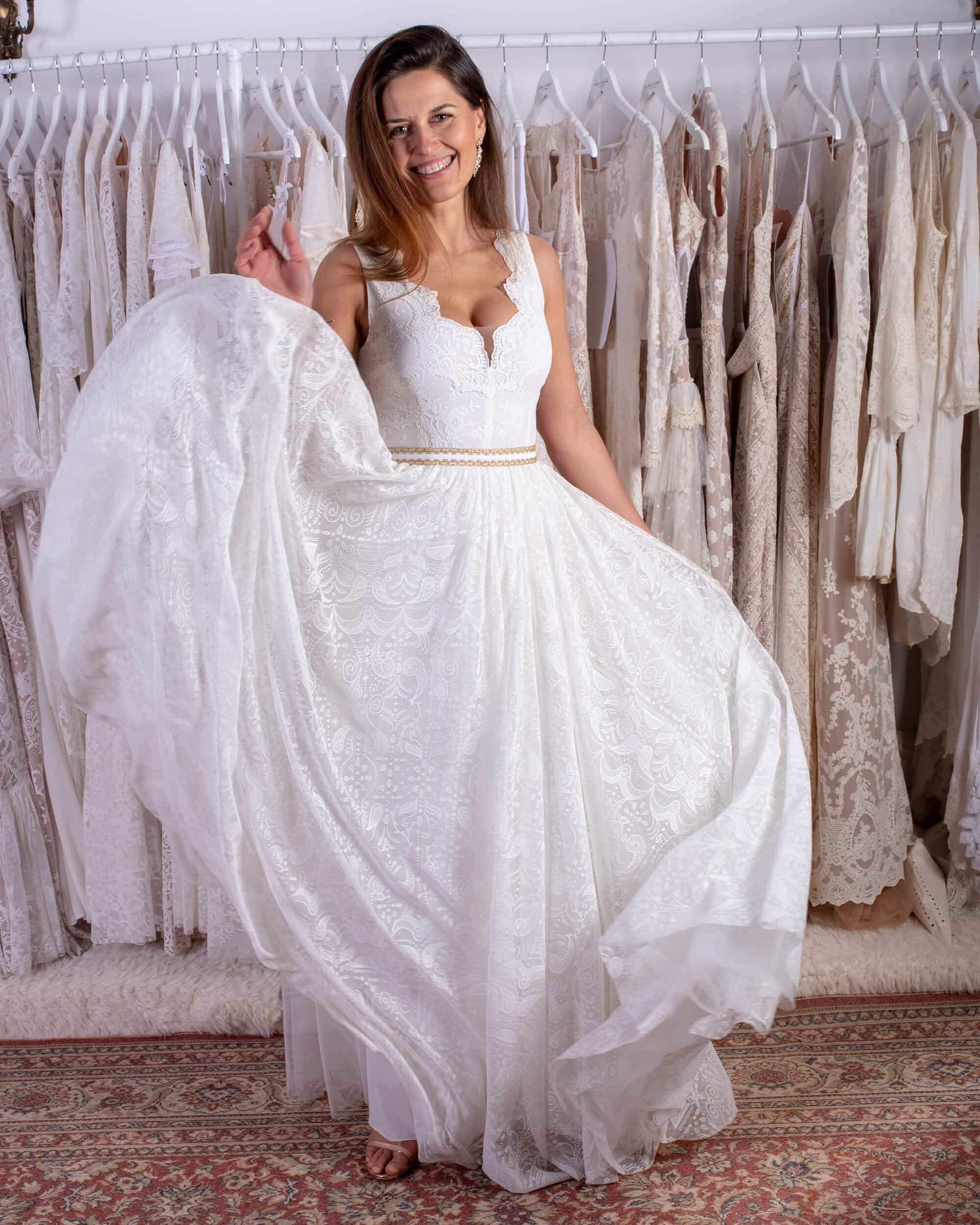 suknia ślubna księżniczka princessa
