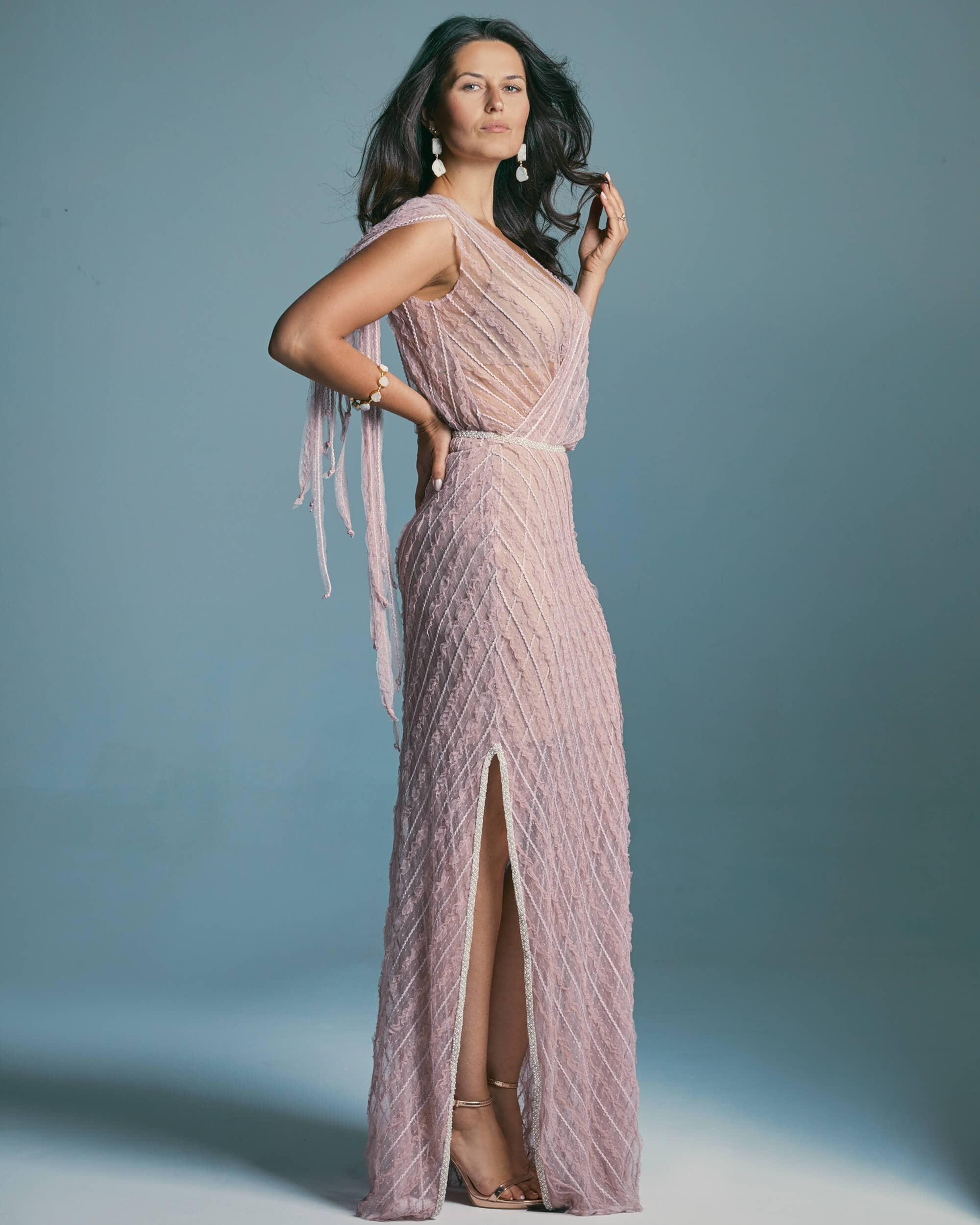 Suknia ślubna maskująca mankamenty figury - Venezia 3