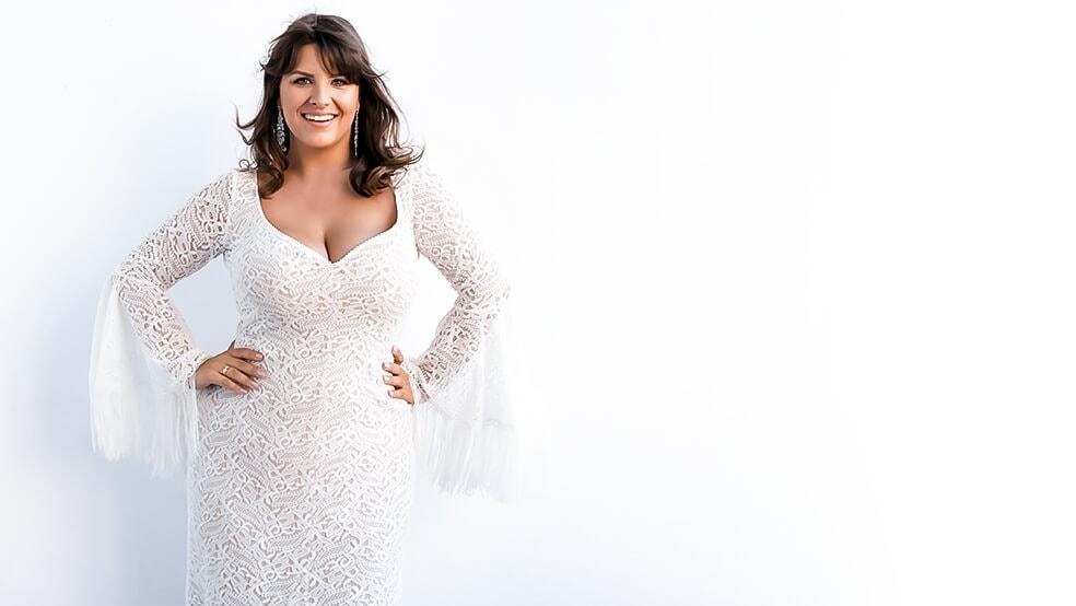 suknie slubne plus size2 The Boho Dresses perfect wedding dresses