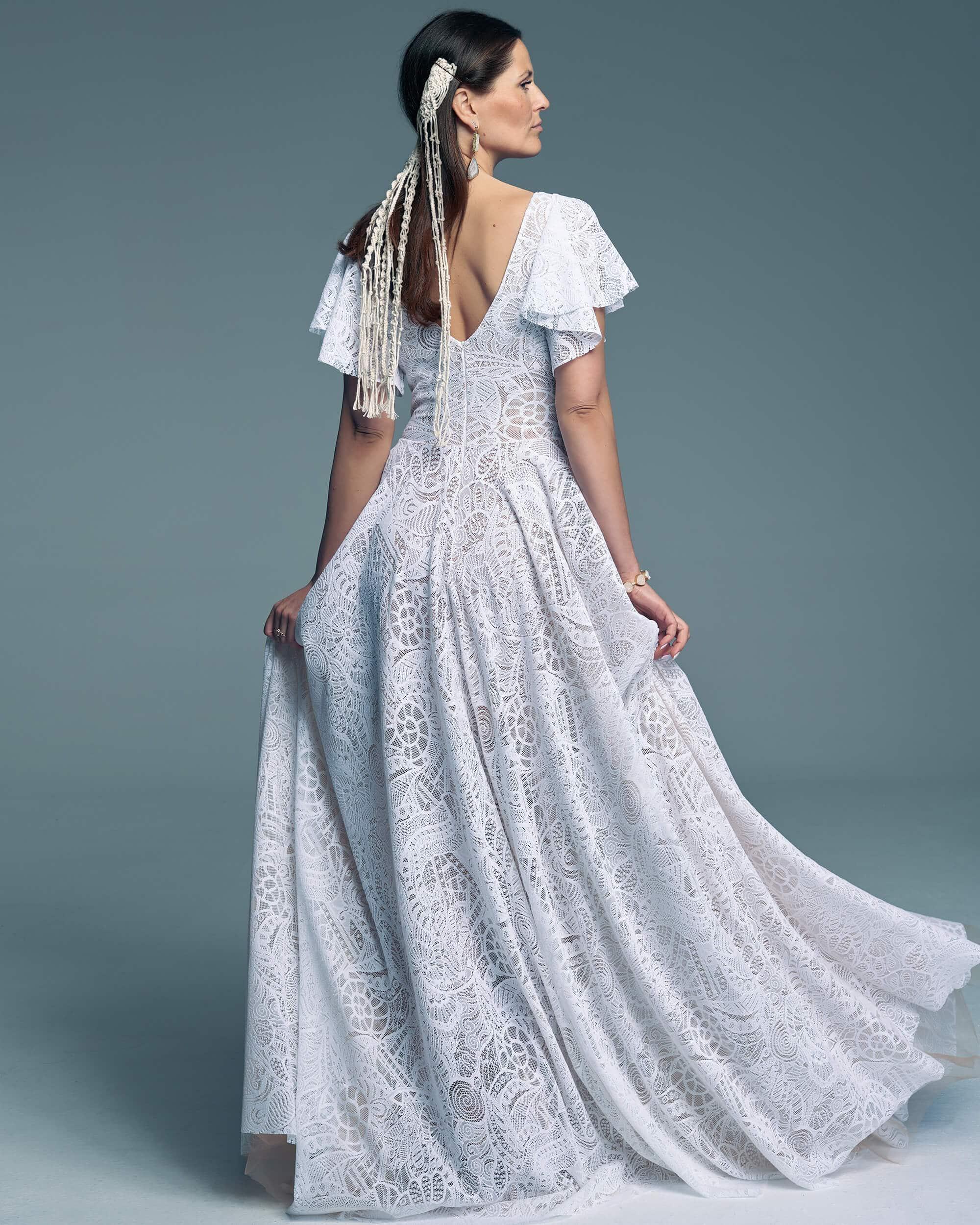 Suknia ślubna elegancka i ponadczasowa