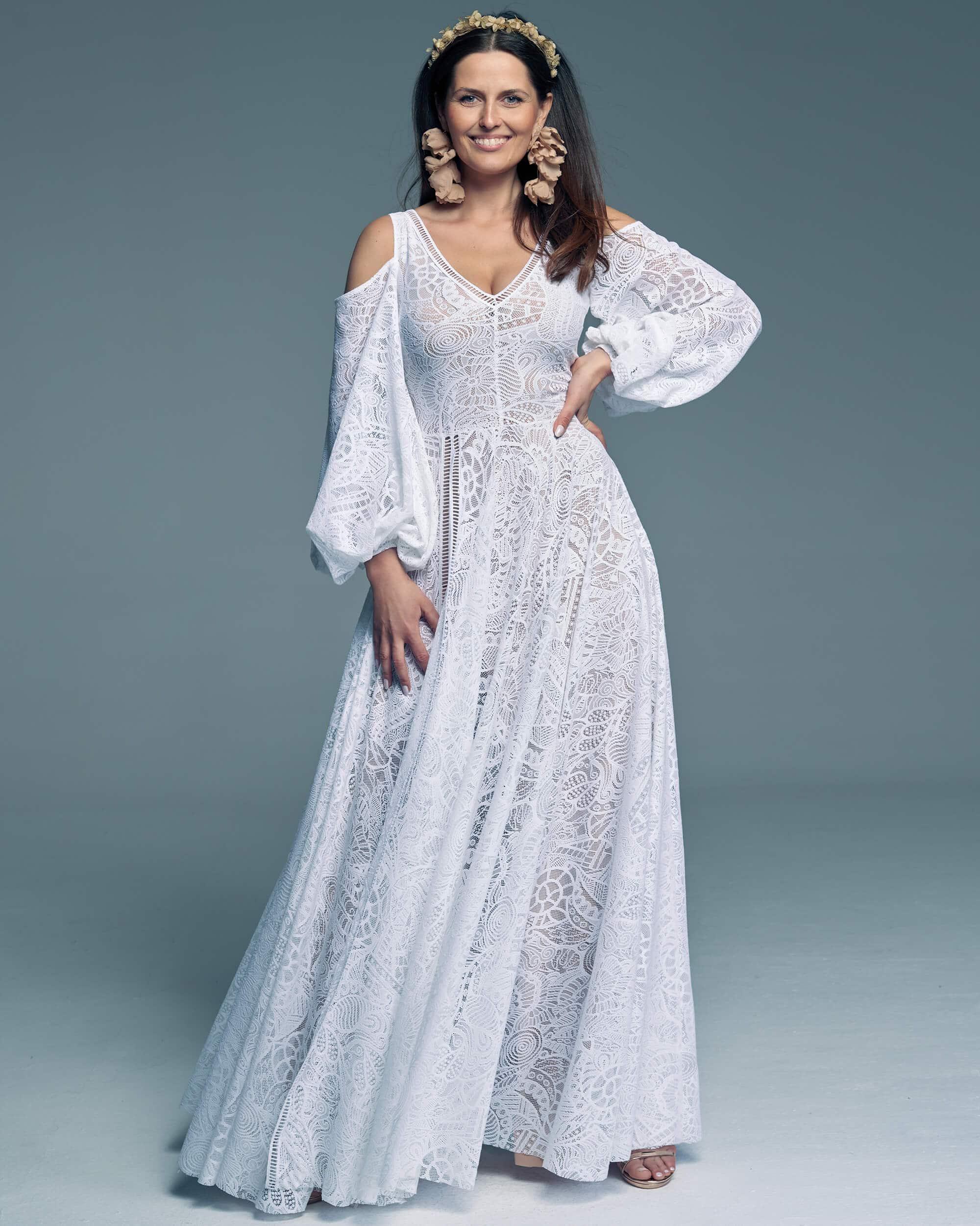 Suknia ślubna - jedna z piękniejszych