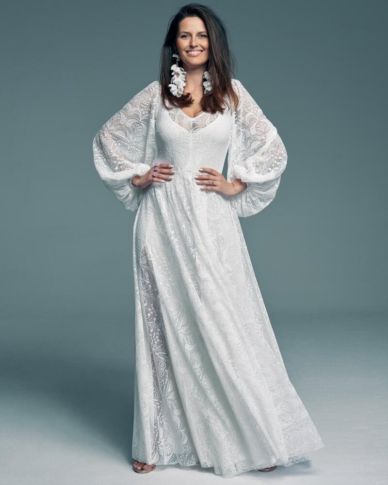suknia ślubna szerokie rękawy Porto 55 1 Porto wedding dresses collection