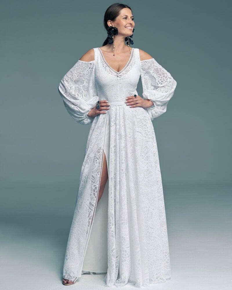 suknia ślubna z białą podszewką Santorini 14 1 Santorini wedding dresses collection